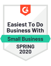 G2 easiest to do business with Spring 2020