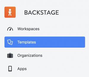 event app templates