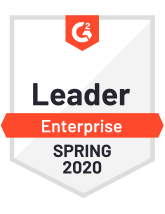 G2 enterprise leader Spring 2020