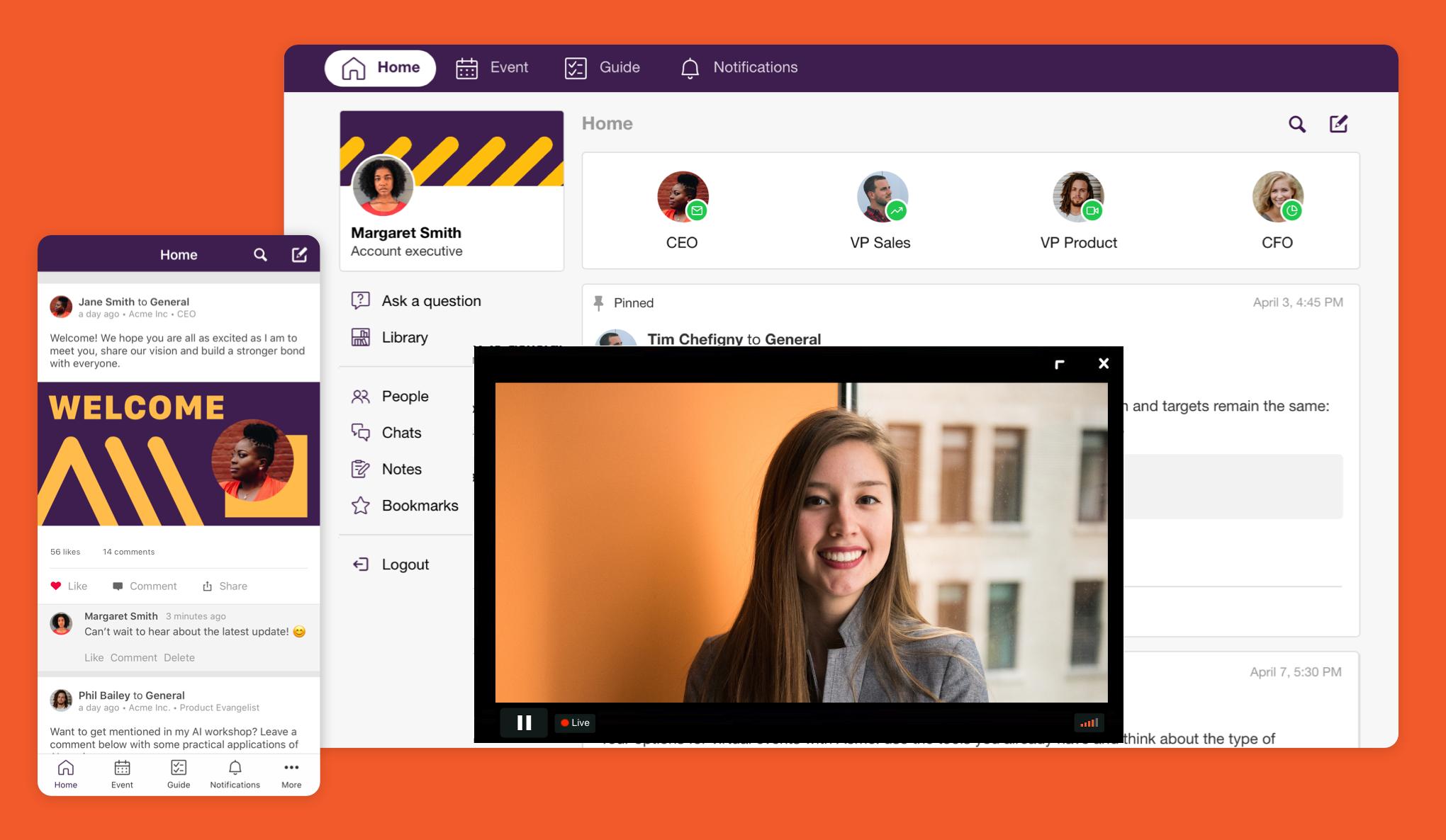 SpotMe virtual event platform
