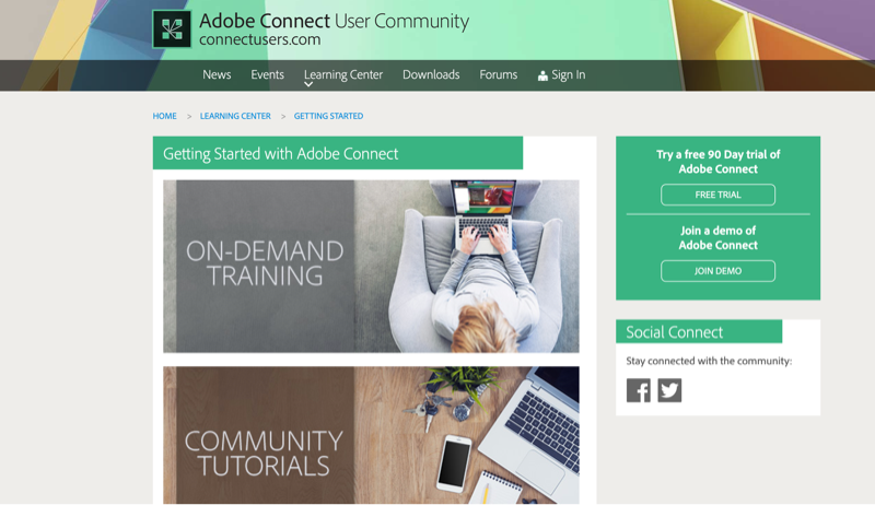 Adobe Connect Support