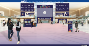Virtual event idea, Okta event