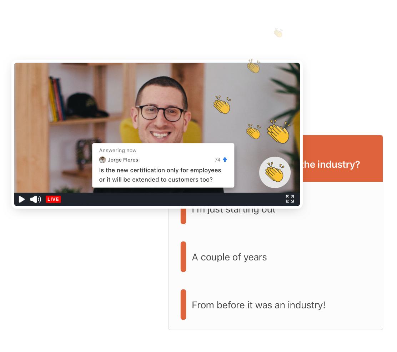 SpotMe – Engagement tool