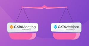 GoToWebinar vs GoToMeeting
