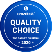 Crozdesk top ranked solution and quality choice 2020