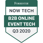 Forrecter Now Tech mention in B2B online event tech