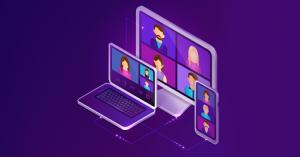 virtual conferencing events