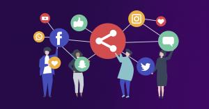 Social Media and Social Signaling to enhance virtual networking at events