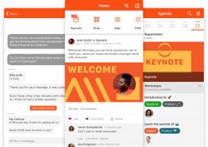 SpotMe, best mobile event app