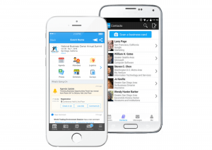 Whova virtual event app