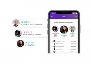 Pathable mobile event app features