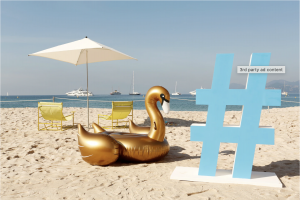 Twitter Beach, Event Marketing Example