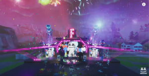 Fortnite's In-Game Marshmello Concert, example of event marketing