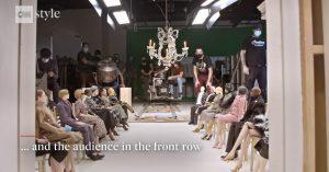 Moschino virtual fashion show
