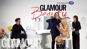 Glamour Magazine beauty festival, experiential marketing