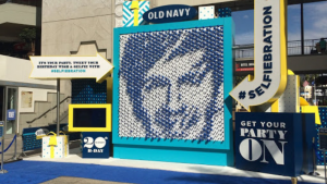 Old Navy Selfiebration experiential marketing